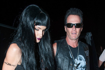 Rande Gerber Stars Attend the Casamigos Tequila Halloween Party