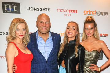 Randy Couture The Row Premiere At Sunset 5 Theatre