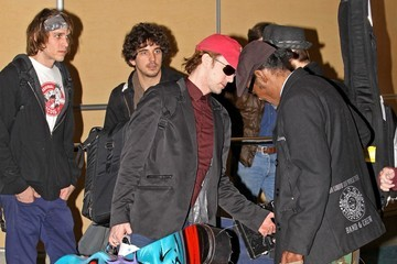 Ben Graupner Jackson Rathbone at the Airport