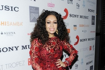 Rebecca Ferguson Celebs at the Warner Music Party — Part 2