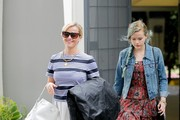 Reese Witherspoon and Her Daughter Go Shopping
