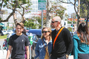 Reese Witherspoon, her son Deacon Phillippe and Jim Toth are seen.