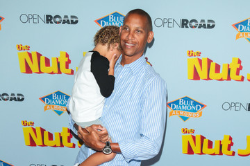Reggie Miller Premiere of Open Road Films' 'The Nut Job 2: Nutty By Nature'