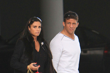 Katie Price Alex Reid Katie Price and Alex Reid in West Hollywood