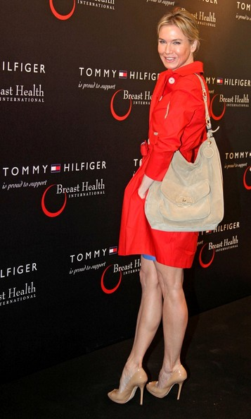 Renee Zellweger At A Tommy Hilfiger Event