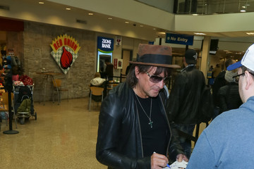 Richie Sambora Celebrities Are Seen at Salt Lake City Airport