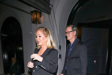 Rick Hilton Kathy Hilton Outside Craig's Restaurant In West Hollywood
