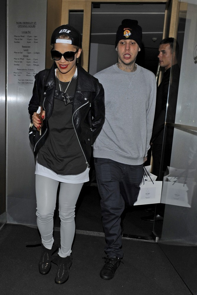 Rita Ora Out With Richard Hilfiger Zimbio