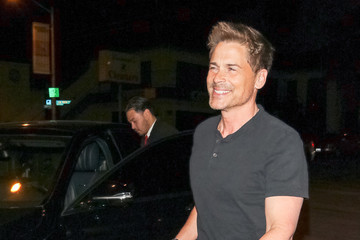 Rob Lowe Rob Lowe Outside Craig's Restaurant In West Hollywood