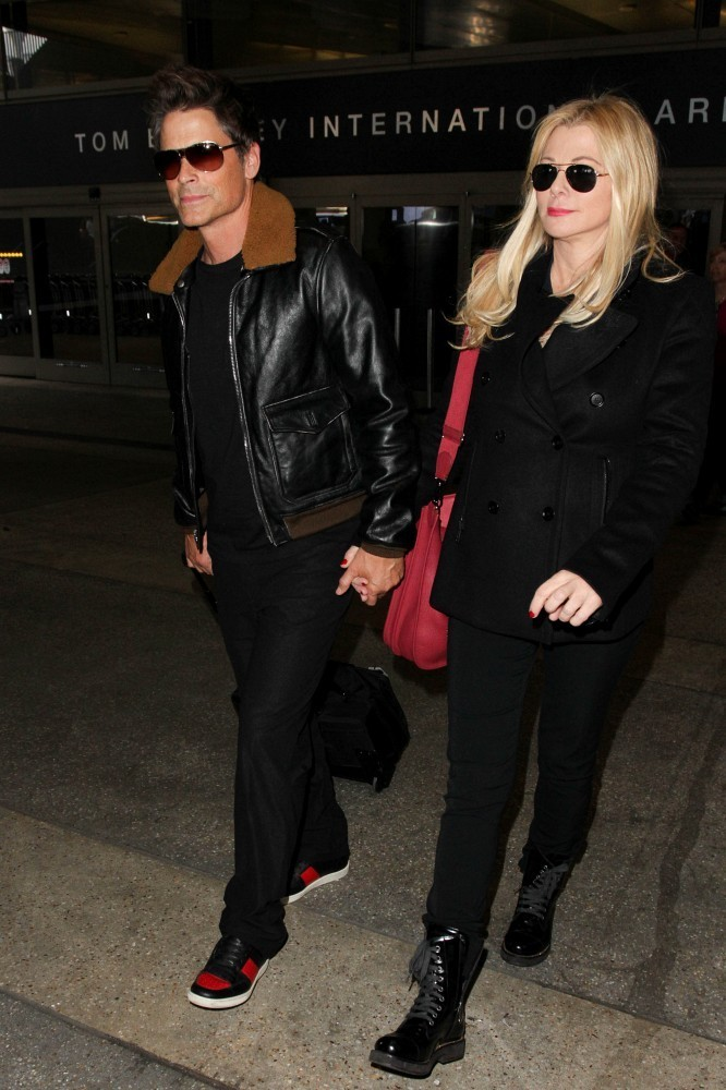 Rob Lowe And Sheryl Berkoff Photos Photos Rob Lowe And