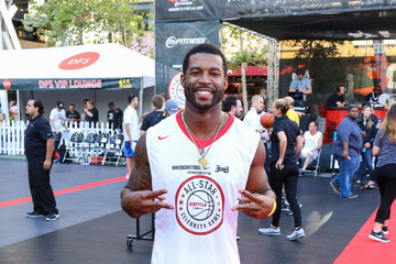 Robert Christopher Riley Celebrities Attend the 8th Annual Nike Basketball 3ON3 Tournament at Microsoft Square