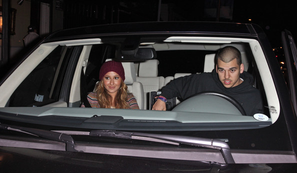 photo of Rob Kardashian Range Rover - car