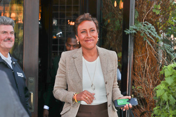 Robin Roberts Robin Roberts Is Seen Out in New York