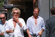 Rod Stewart and Sean Stewart are seen out and about in Beverly Hills.