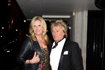 Rod Stewart Celebs Spotted at the Savoy Hotel