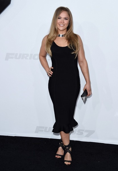 Ronda Rousey - 'Furious 7' World Premiere