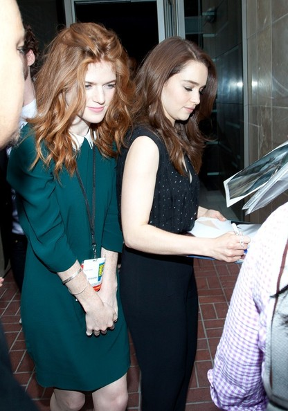 Rose Leslie Photos Photos - 'Game of Thrones' Stars at ...