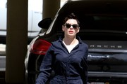 Rose McGowan in Hollywood