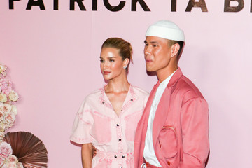 Rosie Huntington-Whiteley Rosie Huntington-Whiteley outside the launch of Patrick Ta's Beauty Collection at Goya Studios