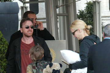 Cormac Roth Tim Roth and his Family in Rome