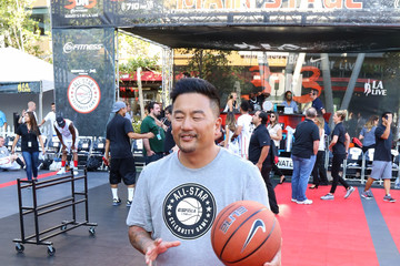 Roy Choi Celebrities Attend the 8th Annual Nike Basketball 3ON3 Tournament at Microsoft Square