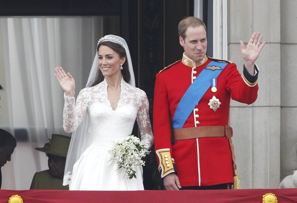 Prince William In Royal Wedding: William And Kate With