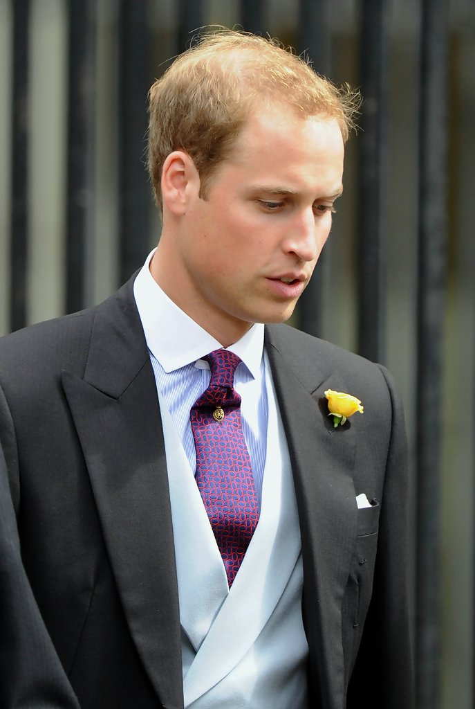 Prince William Photos»PhotostreamRoyal brothers attend wedding