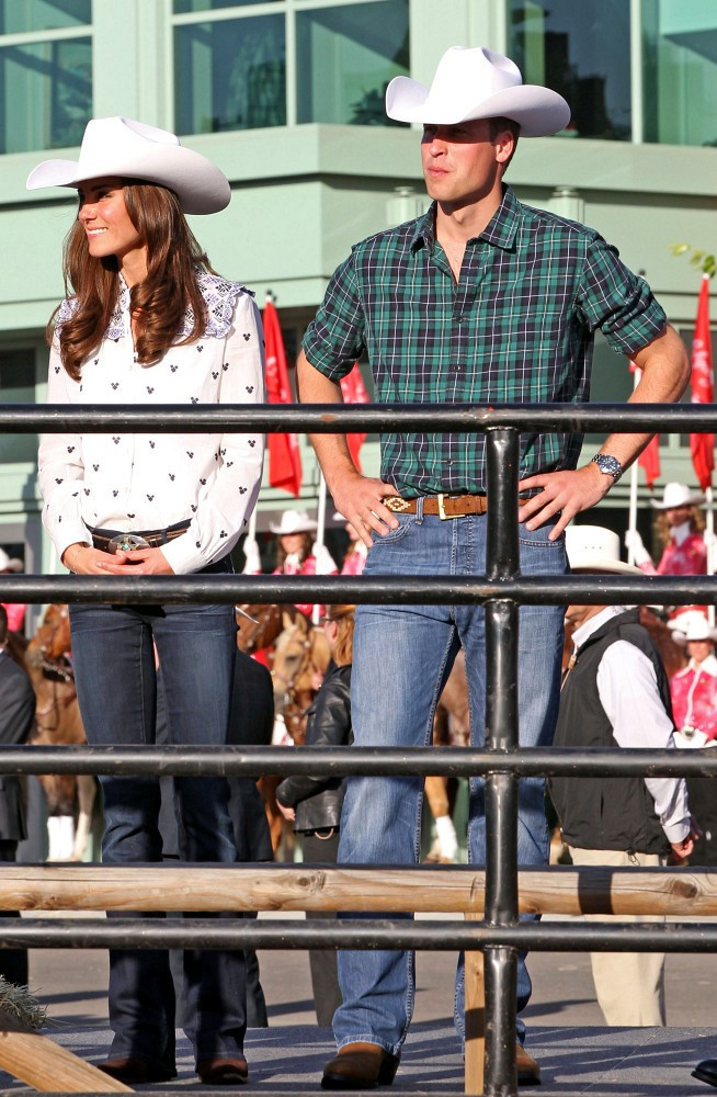 Kate Middleton In The Royals At The Calgary Stampede Zimbio