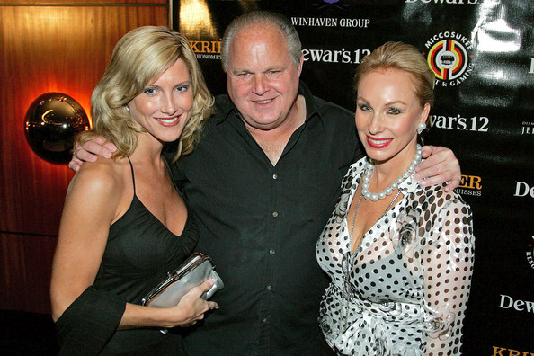 Kathryn rogers and rush limbaugh the 2008 all star gala and party