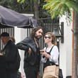 Russell Brand Russell Brand and Laura Gallacher Runs Errands in LA