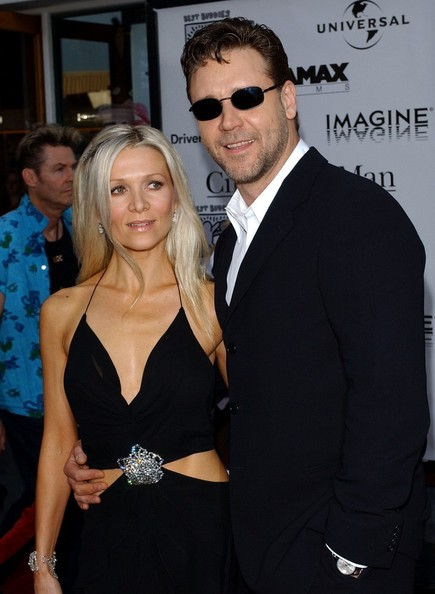 Russell Crowe and Danielle Spencer Photos Photos - File