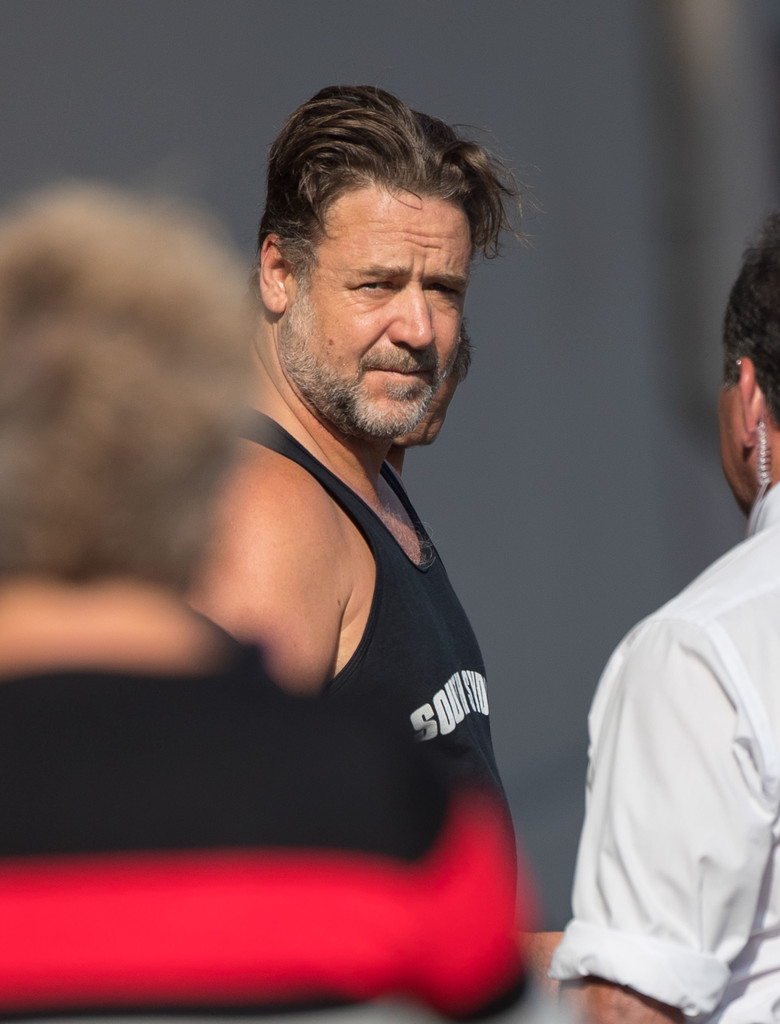 Russell Crowe Photos Photos Russell Crowe At Jimmy