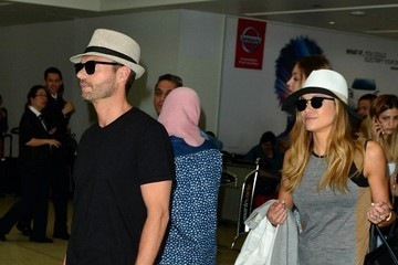 Ryan Seacrest Ryan Seacrest and Shayna Terese Taylor are Seen at LAX