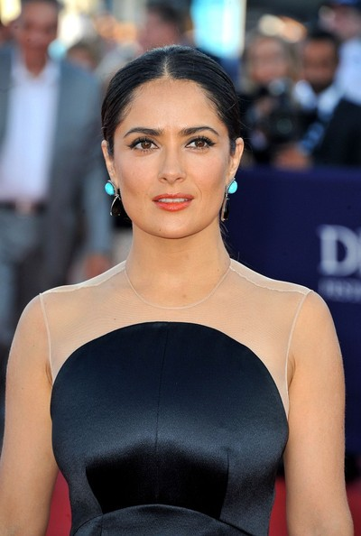 Salma Hayek - Celebs at the Closing of the Deauville Film Festival