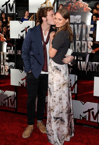 Sam Claflin - Arrivals at the MTV Movie Awards