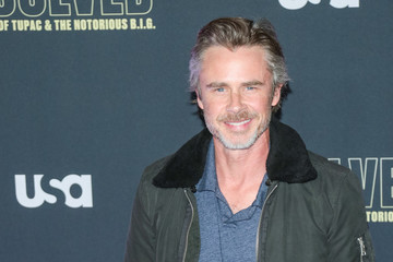 Sam Trammell Premiere Of USA Network's 'Unsolved: The Murders Of Tupac And The Notorious B.I.G.'