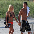 Greg Knudson Shauna Sand at a Beach