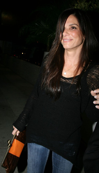 Sandra Bullock Parties with pals at the west hollywood hot spot The Abbey.