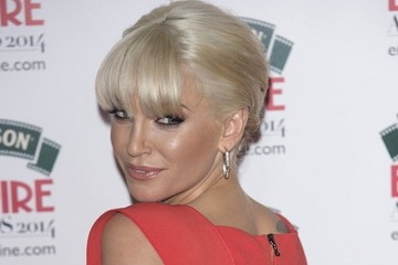 Sarah Harding Arrivals at the Empire Awards