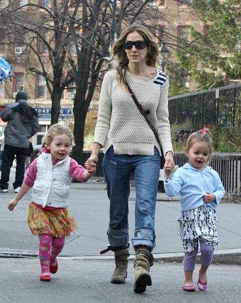 Sarah Jessica Parker Pictures - Sarah Jessica Parker Out With the Kids
