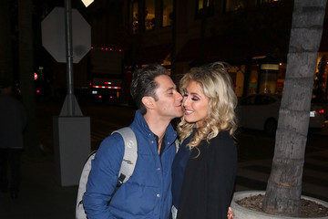 Sasha Farber Celebrities Are Seen at The Grove in Los Angeles
