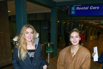 Saxon Sharbino Celebrities at Salt Lake International Airport