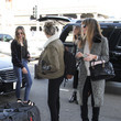 Scarlet Stallone The Stallone Family Is Seen at LAX