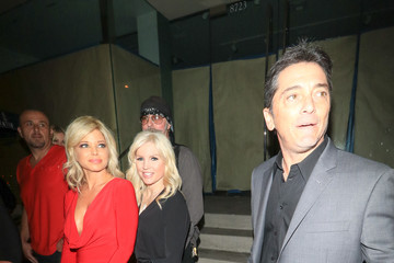 Scott Baio Donna D'Errico And Other Stars Eat At Catch Restaurant In West Hollywood