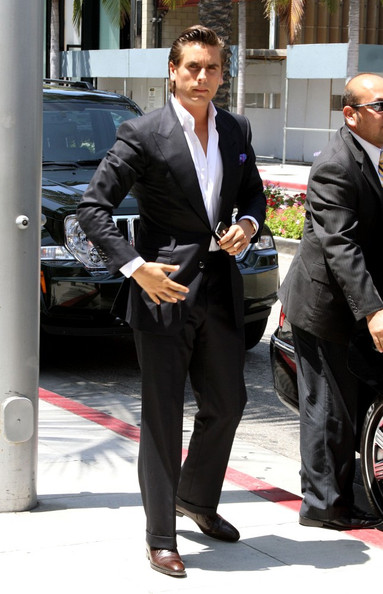 "Scott Disick Kim Kardashian and her mom, Kris Jenner film scenes for their show ""Keeping Up with the Kardashians"". Kim is accompanied by her fiance, Kris Humphries, and later meets up with Scott Disick, and her brother-in-law, Lamar Odom."