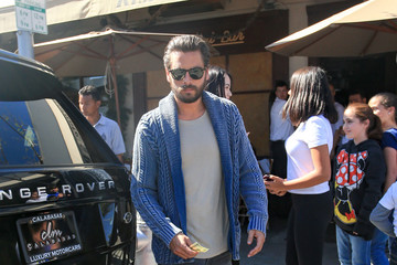 Scott Disick Kendall Jenner and Scott Disick Have Lunch