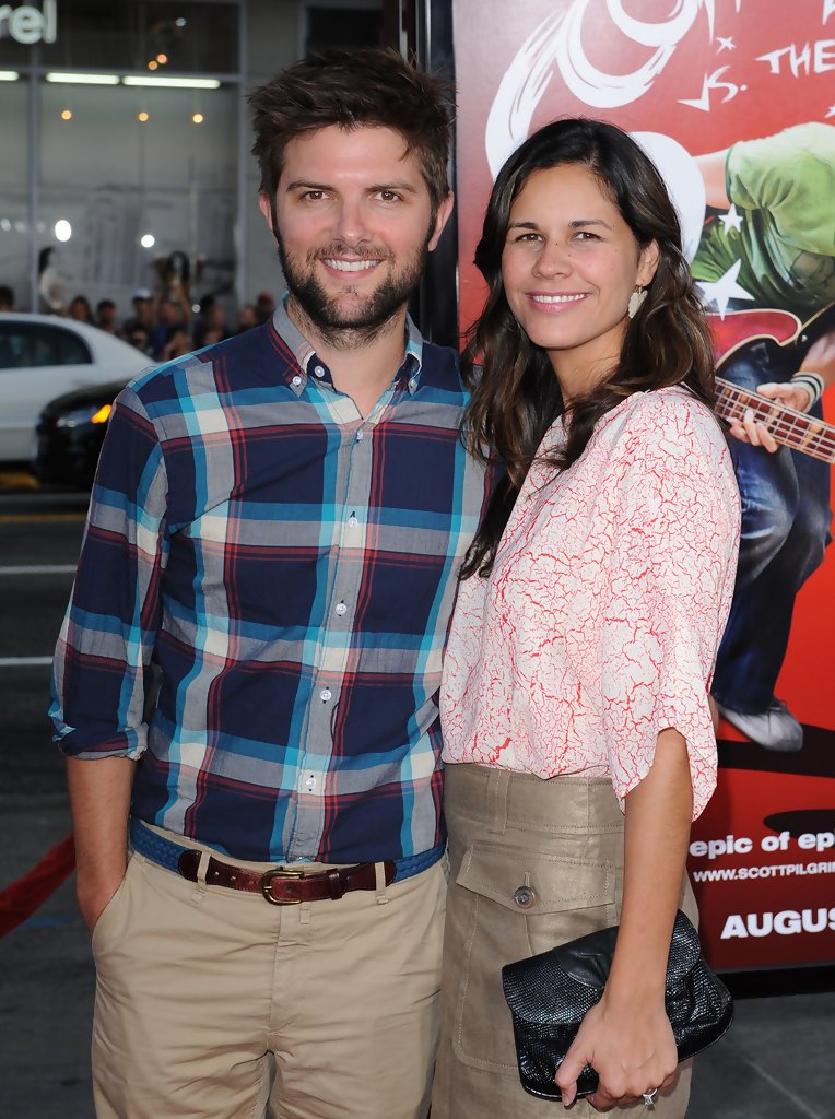 Adam Scott Naomi Sablan images