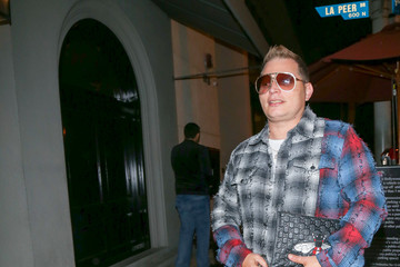 Scott Storch Scott Storch Is Seen Outside Craig's Restaurant in West Hollywood