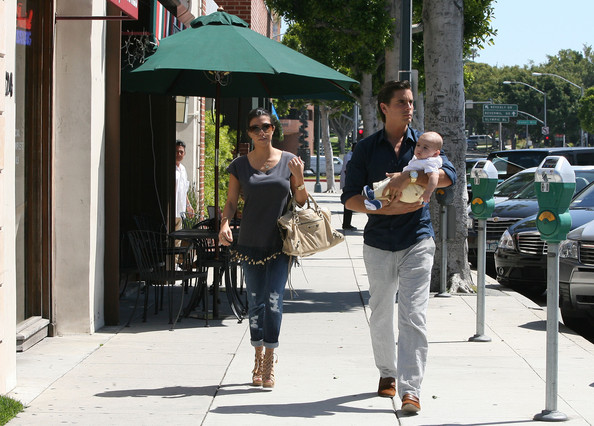 Kourtney+Kardashian in Kourtney Kardashian and Family in Beverly Hills