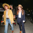 Scout Willis Rumer Willis Is Seen Outside The Just Jared Halloween Party At Goya Studios